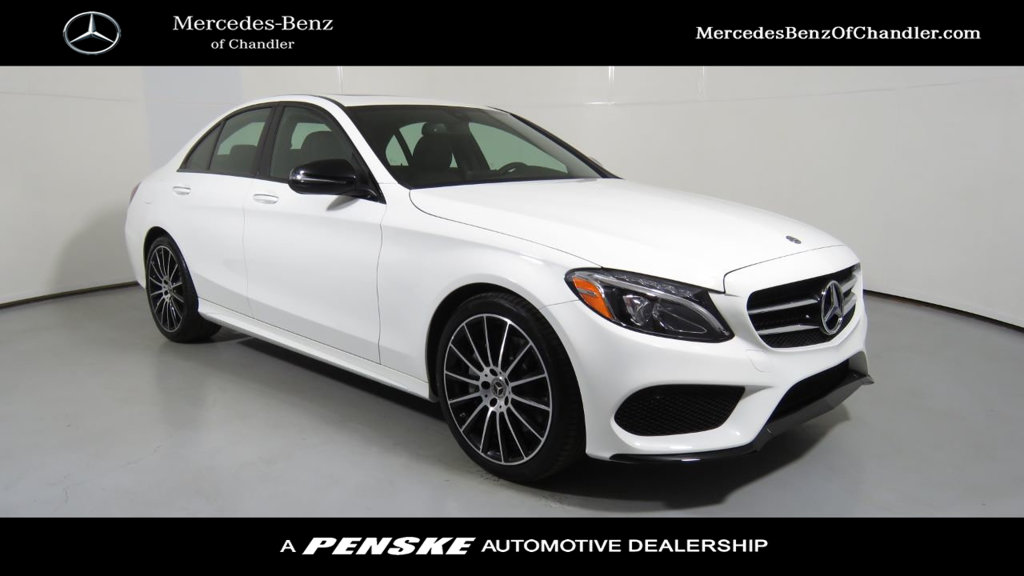 New 2018 mercedes benz c class c 300 sport sedan in for Mercedes benz c class service b