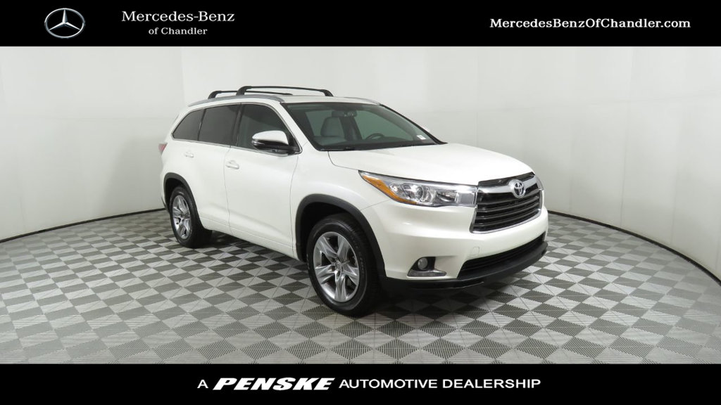 Pre-Owned 2014 Toyota Highlander FWD 4dr V6 Limited