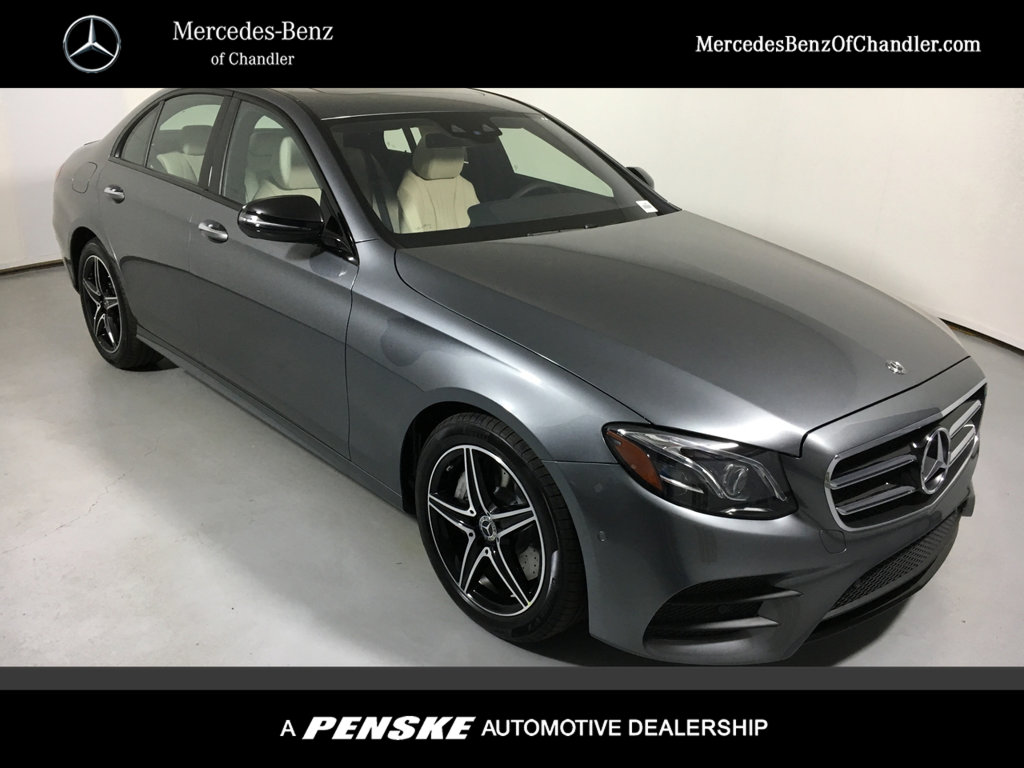 New 2018 mercedes benz e class e 300 sedan in chandler for Mercedes benz of chandler inventory