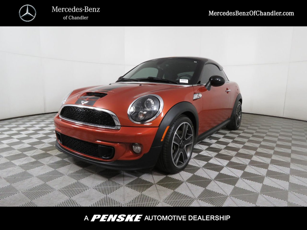 Pre-Owned 2014 MINI Cooper S Coupe