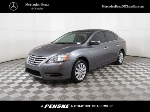 Pre-Owned 2015 Nissan Sentra 4dr Sedan I4 CVT S