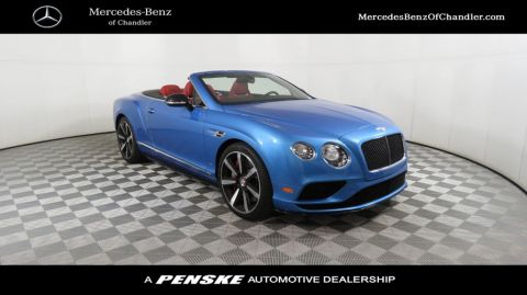 Pre-Owned 2016 Bentley Continental GT 2dr Convertible V8 S